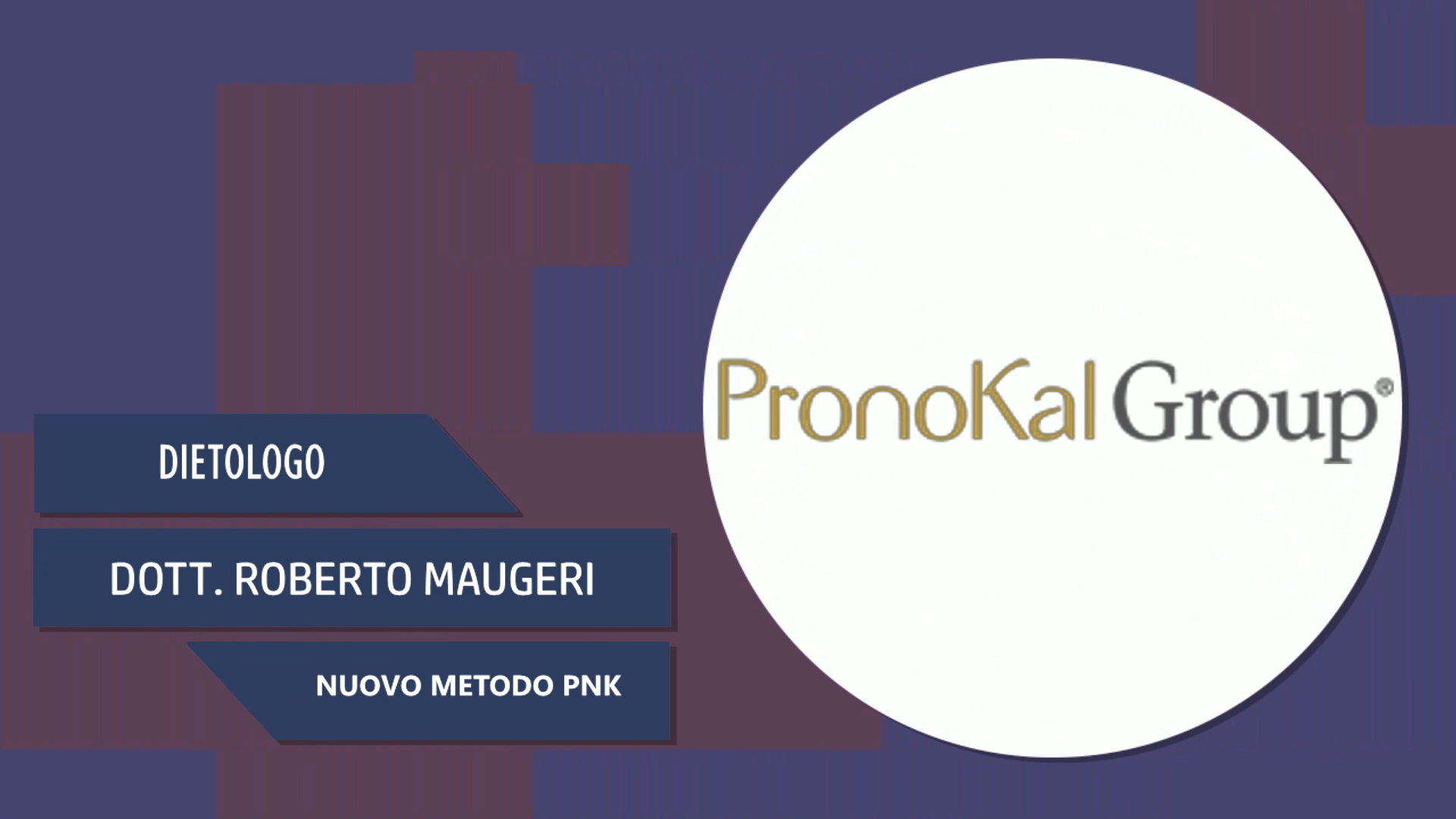 Dott. Roberto Maugeri – Nuovo Metodo PNK
