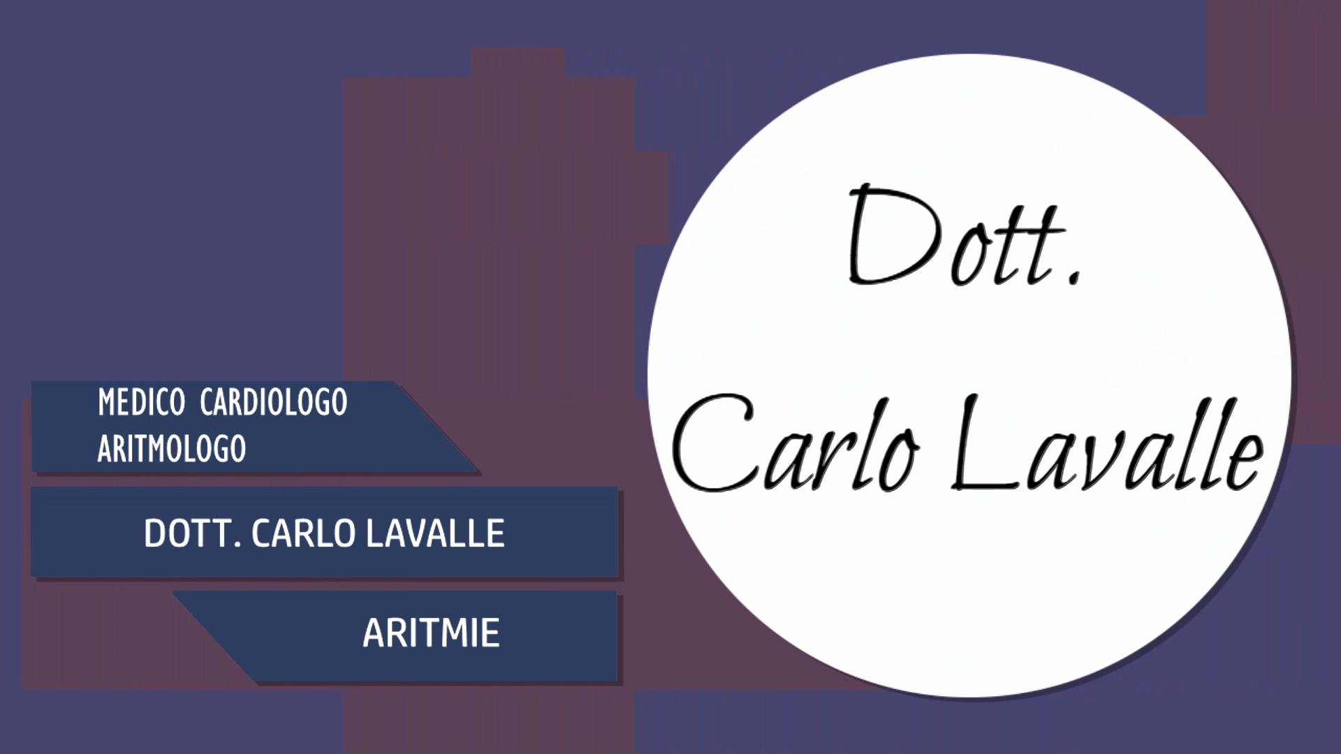 Intervista al Dott. Carlo Lavalle – Aritmie