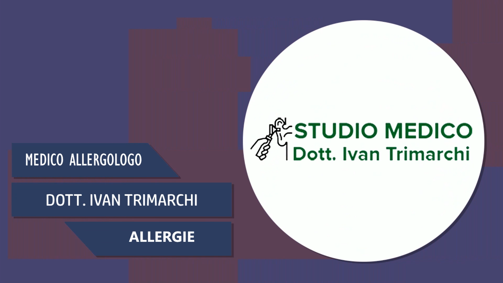 Intervista al Dott. Ivan Trimarchi – Allergie