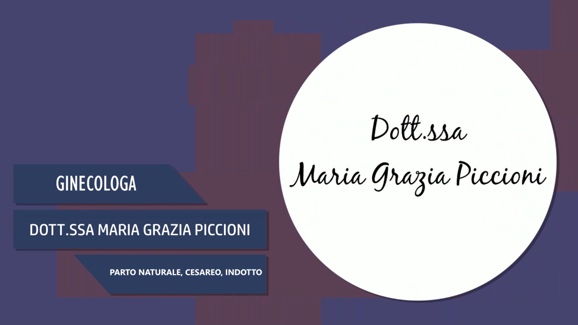 Intervista alla Dott.ssa Maria Grazia Piccioni – Parto Naturale, Cesareo, Indotto