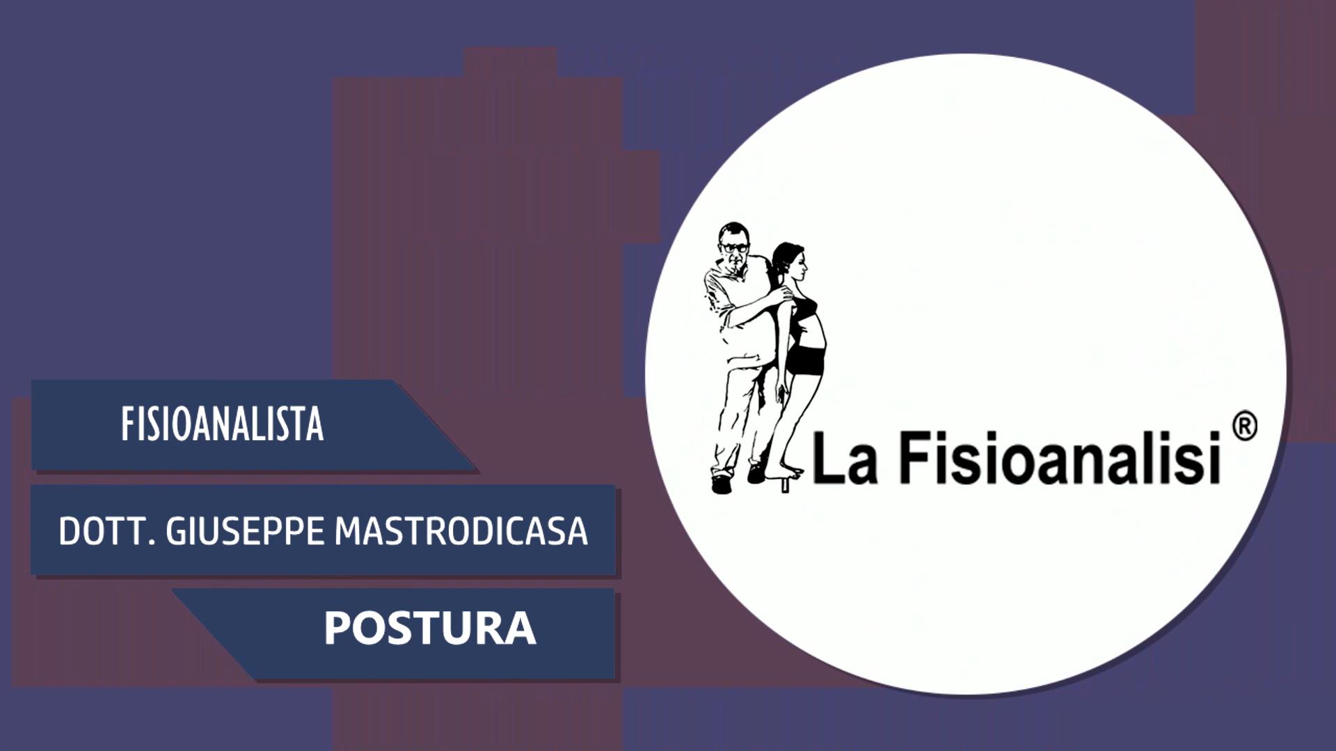 Intervista al Dott. Giuseppe Mastrodicasa – Postura – Secondo Appuntamento