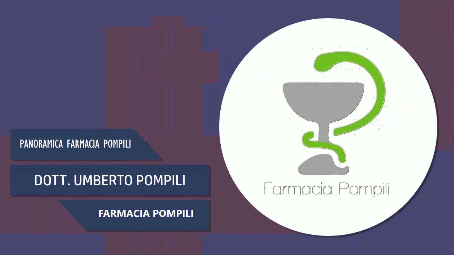 Intervista al Dott. Umberto Pompili – Farmacia Pompili