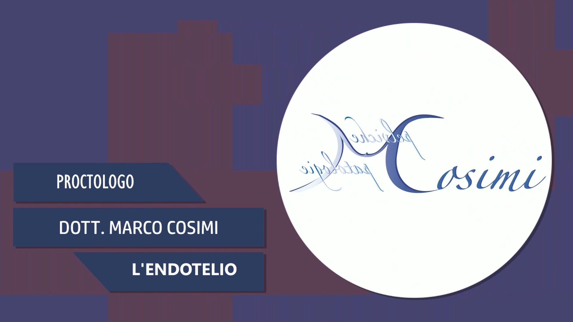 Intervista al Dott. Marco Cosimi – L'Endotelio