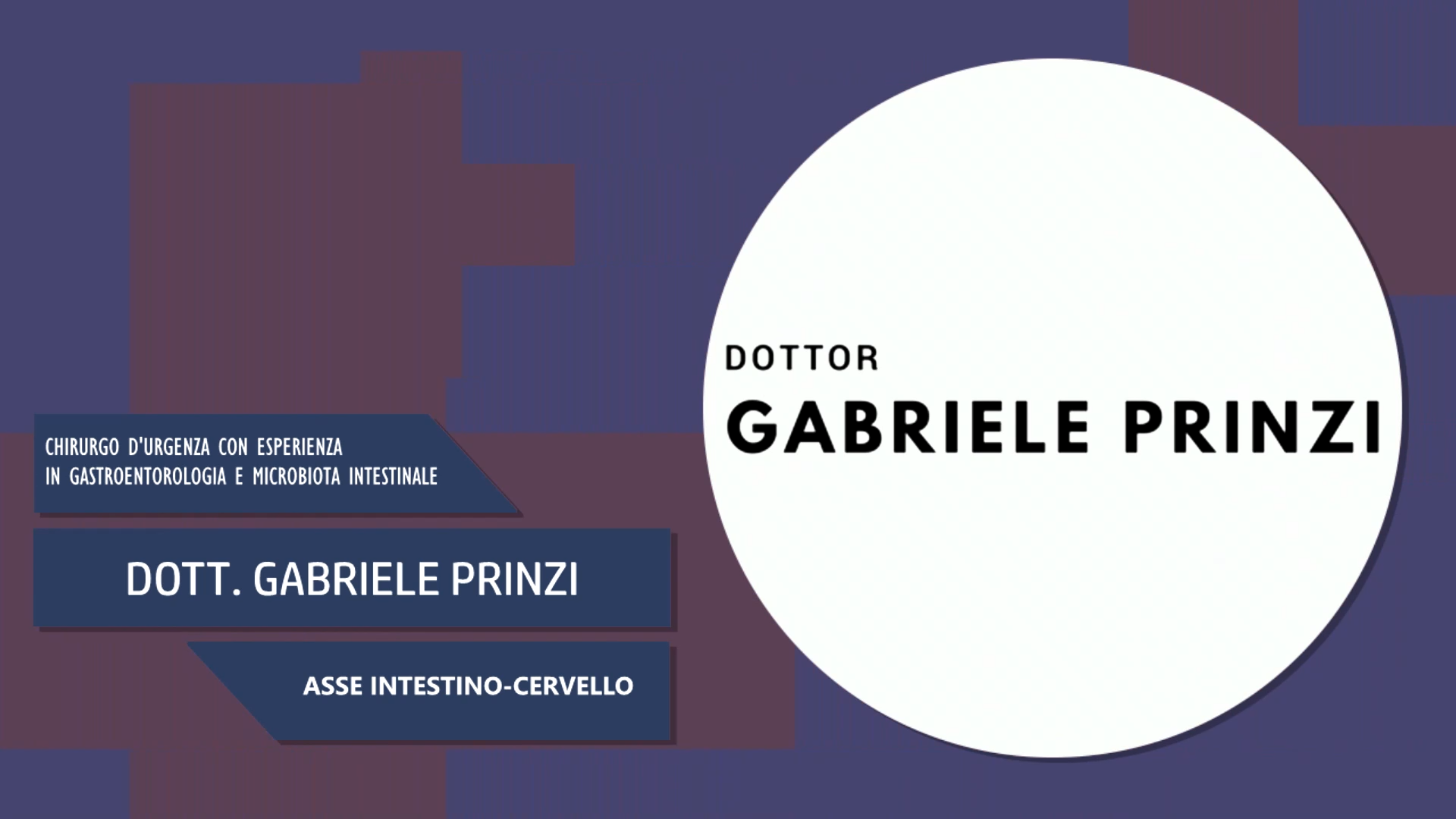 Intervista al Dott. Gabriele Prinzi – Asse Intestino-Cervello