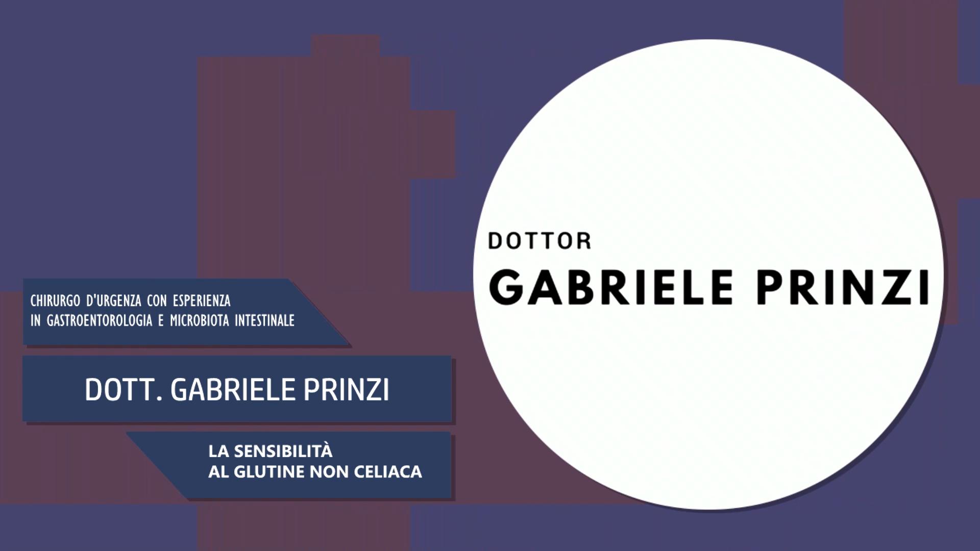 Intervista al Dott. Gabriele Prinzi – La sensibilità al glutine non celiaca