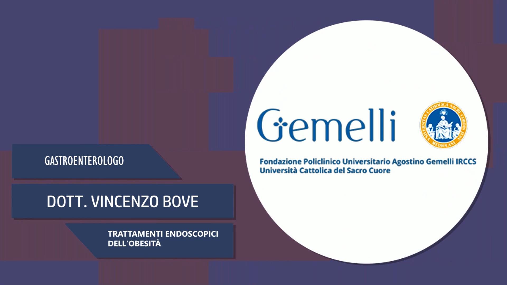 Intervista al Dott. Vincenzo Bove – Trattamenti endoscopici dell'obesità