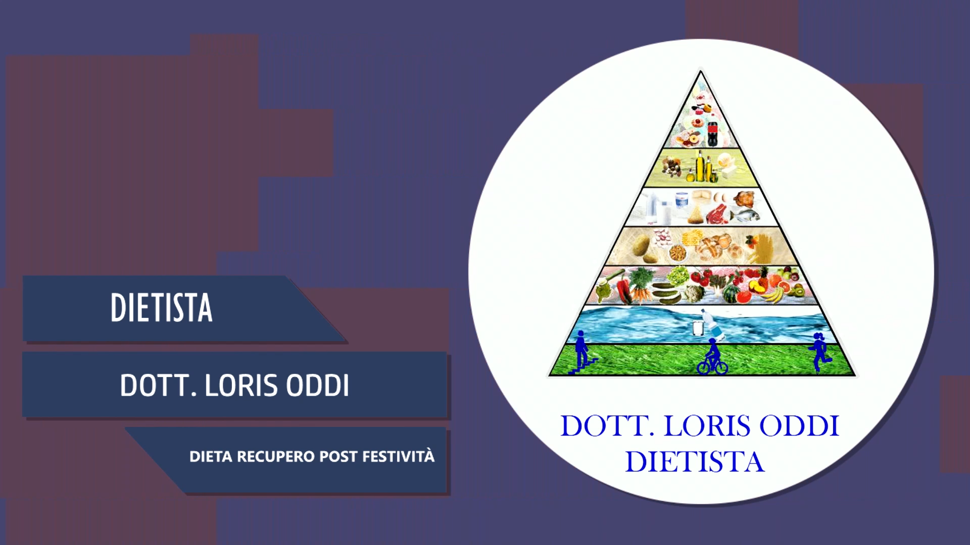 Intervista al Dott. Loris Oddi – Dieta recupero post festività