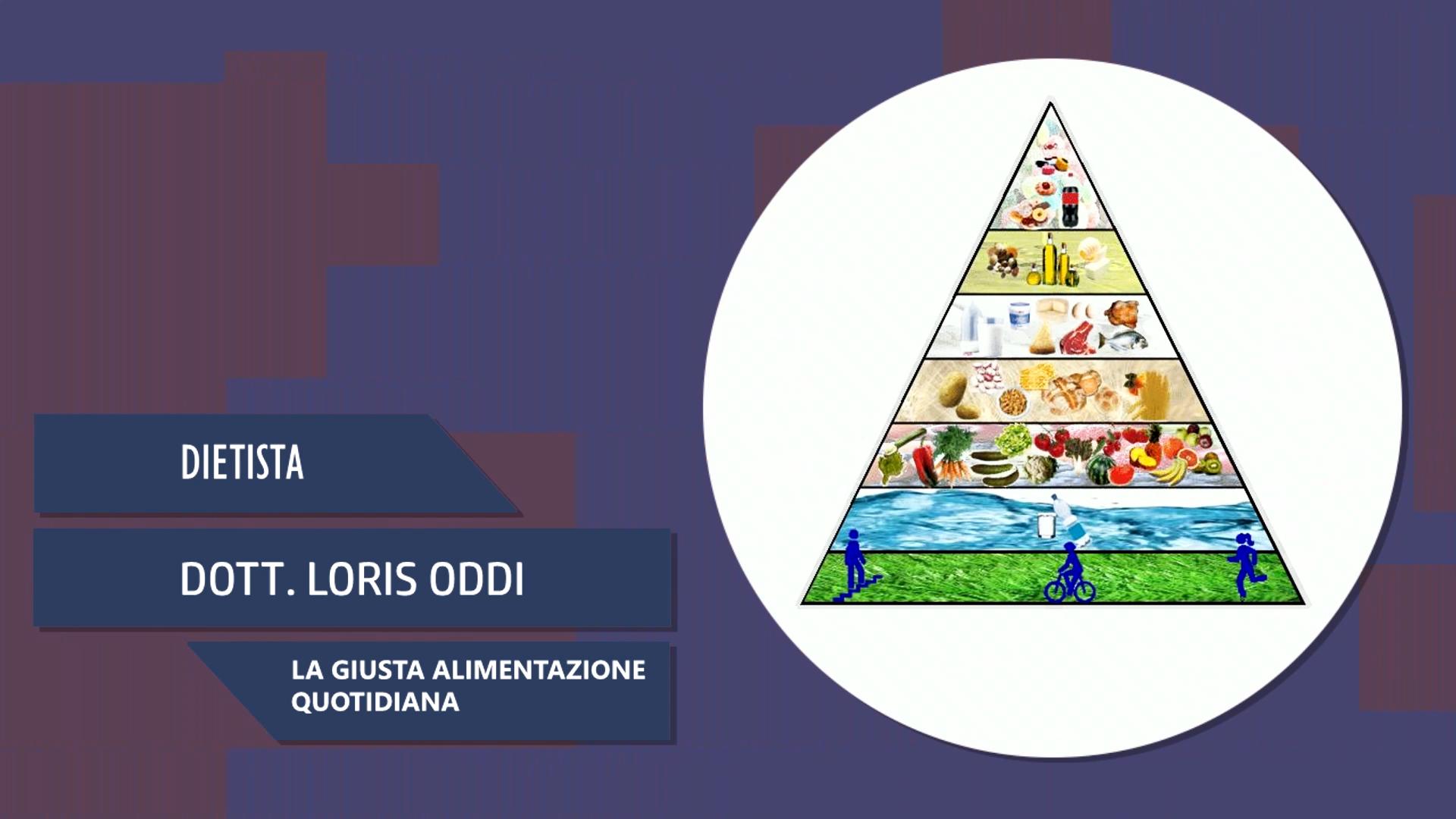 Intervista al Dott. Loris Oddi – La giusta alimentazione quotidiana