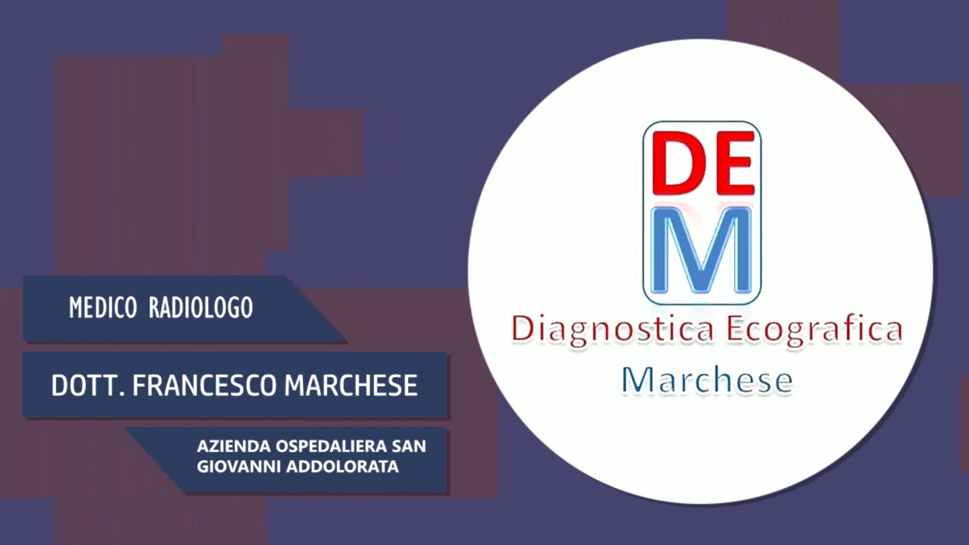 Intervista al Dott. Francesco Marchese – Azienda ospedaliera San Giovanni Addolorata