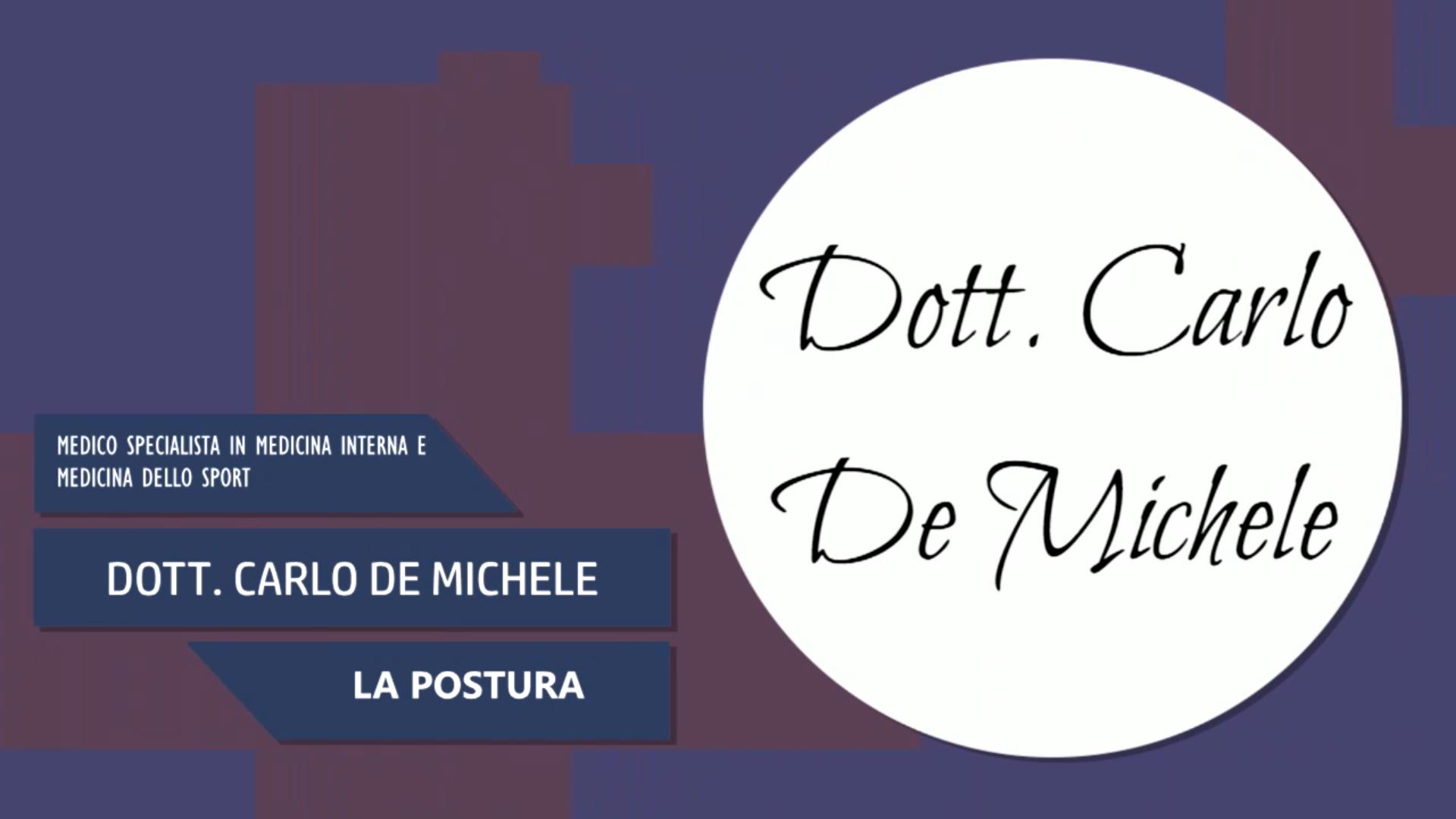 Intervista al Dott. Carlo De Michele – La Postura