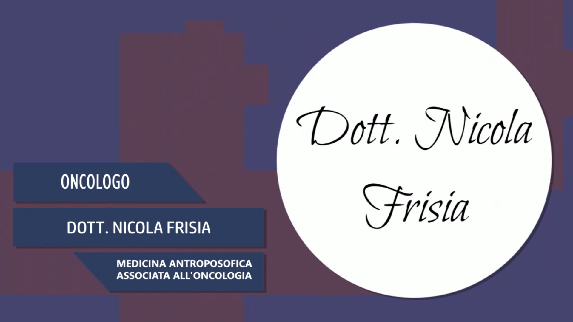 Intervista alla Dott.ssa Nicola Frisia – Medicina antropofisica associata all'oncologia