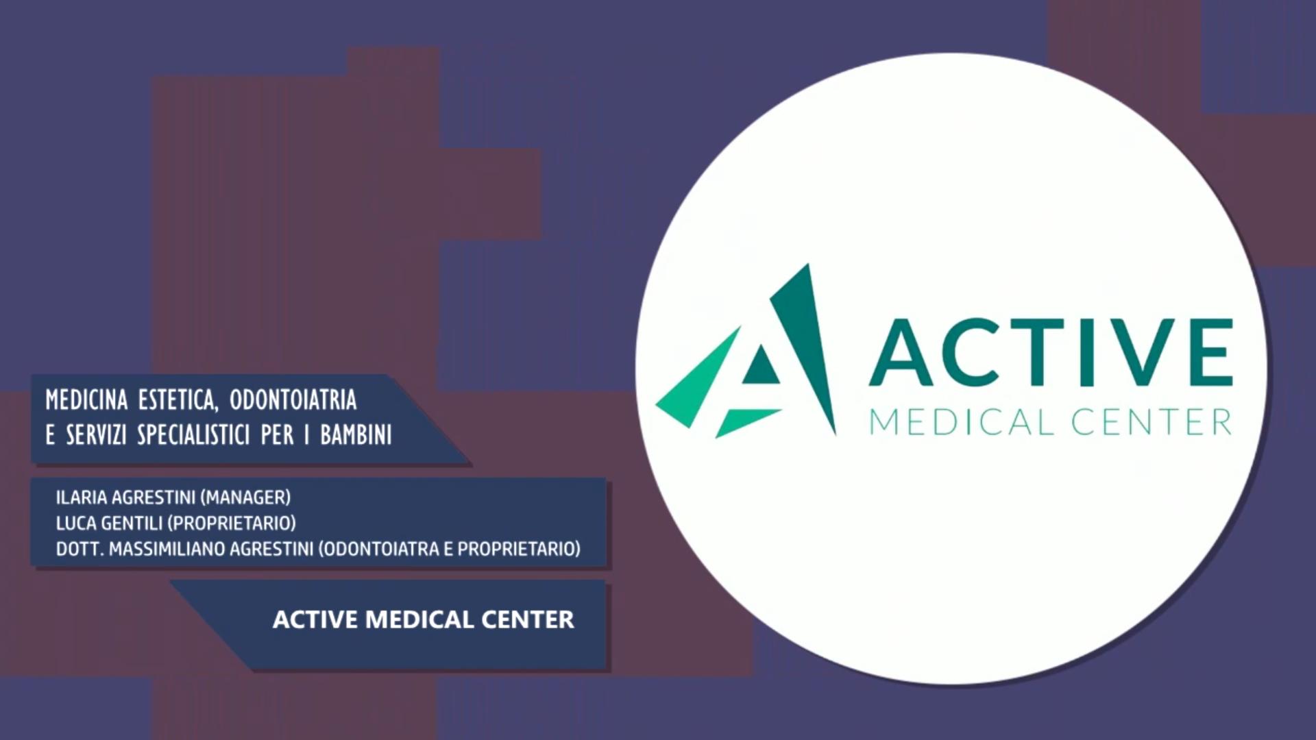 Intervista alla Dott.ssa Ilaria Agrestini, al Dott. Luca Gentili & al Dott. Massimiliano Agrestini – Active Medical Center