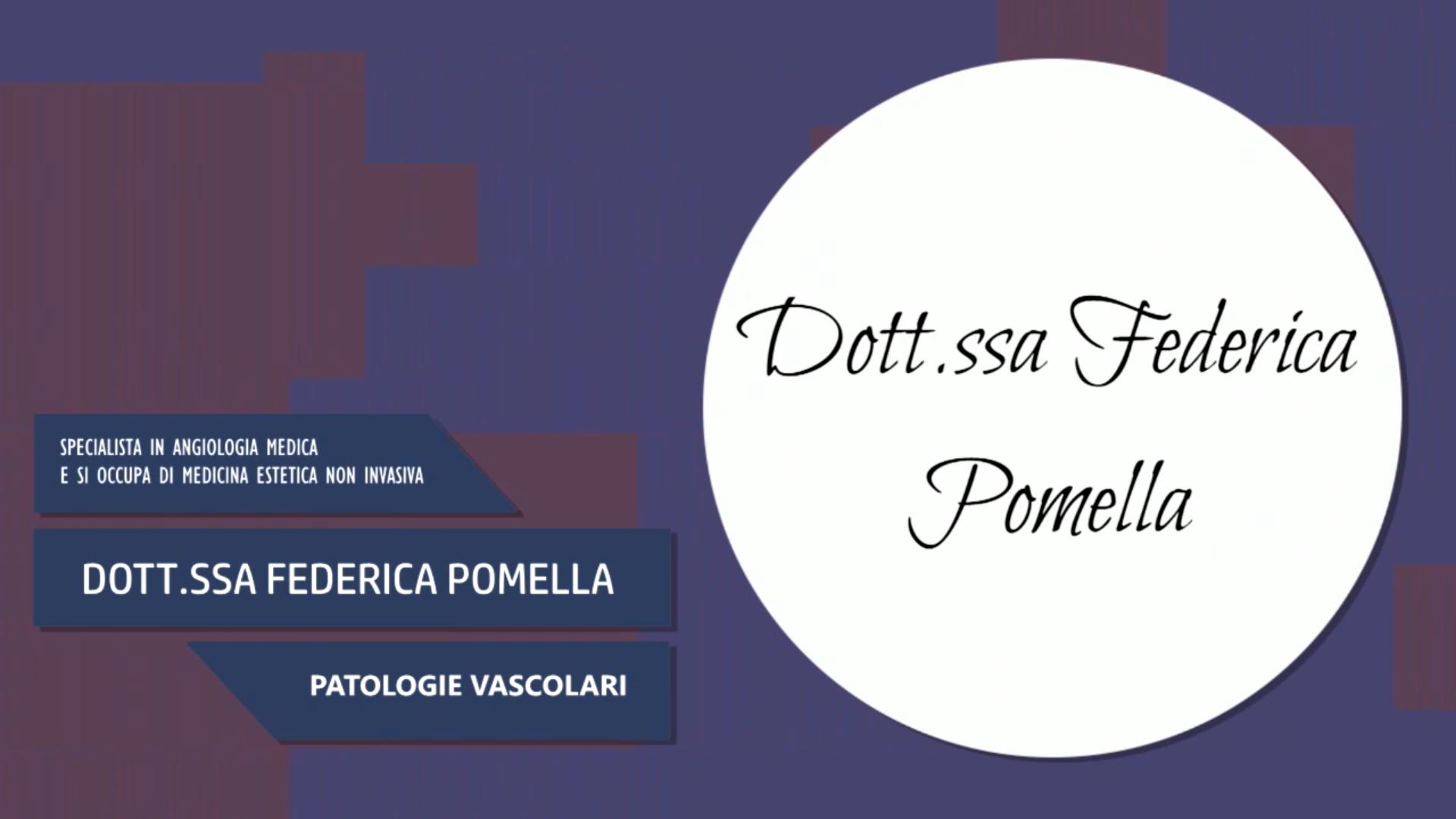 Intervista alla Dott.ssa Federica Pomella – Patologie vascolari