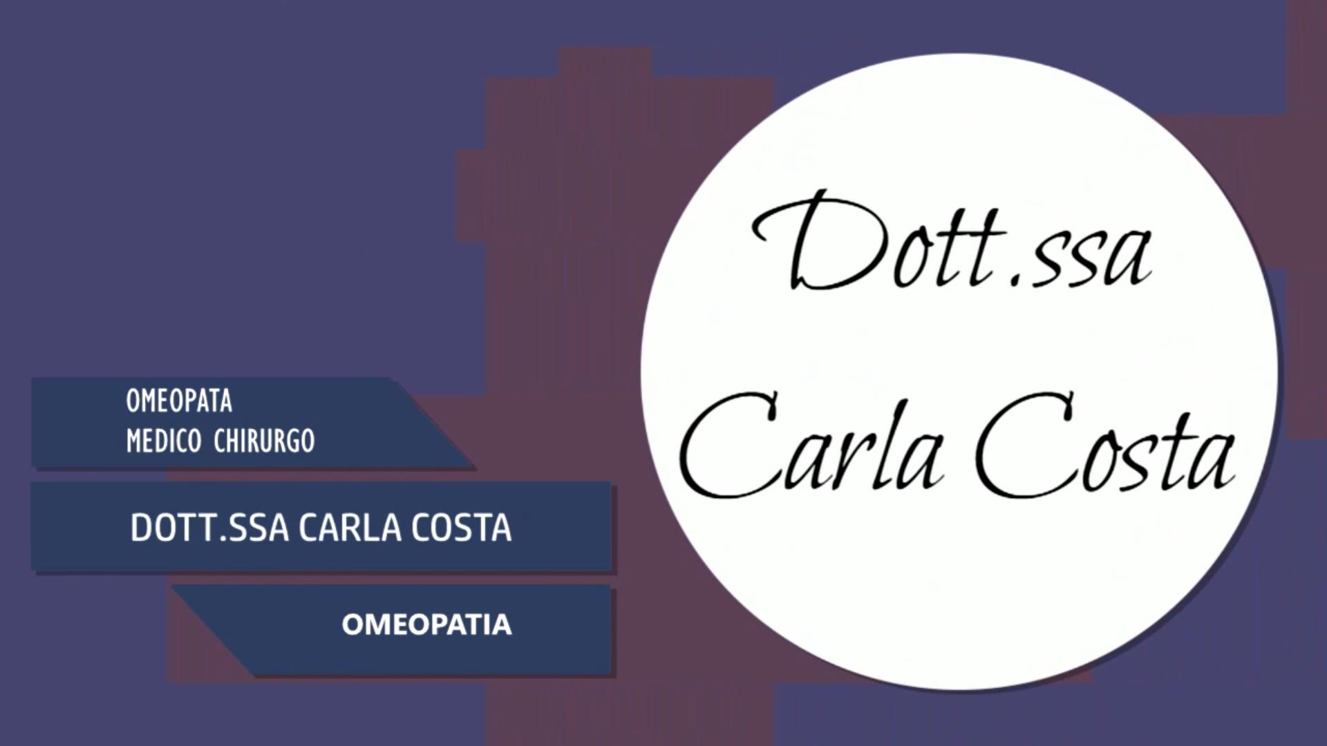 Intervista alla Dott.ssa Carla Costa – Omeopatia