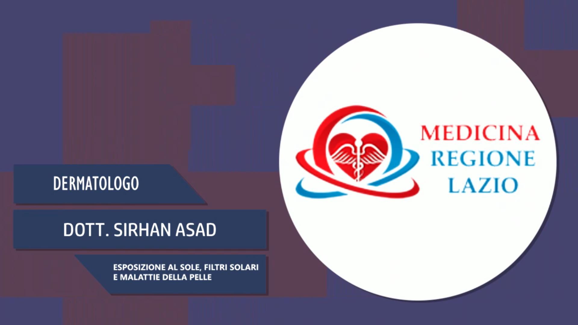 Intervista al Dott. Sirhan Asad – Esposizione al sole
