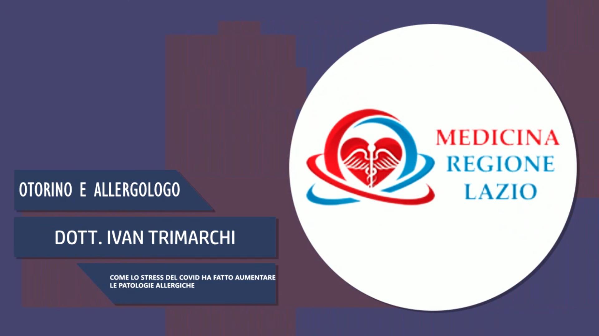 Intervista al Dott. Ivan Trimarchi – Stress da Covid