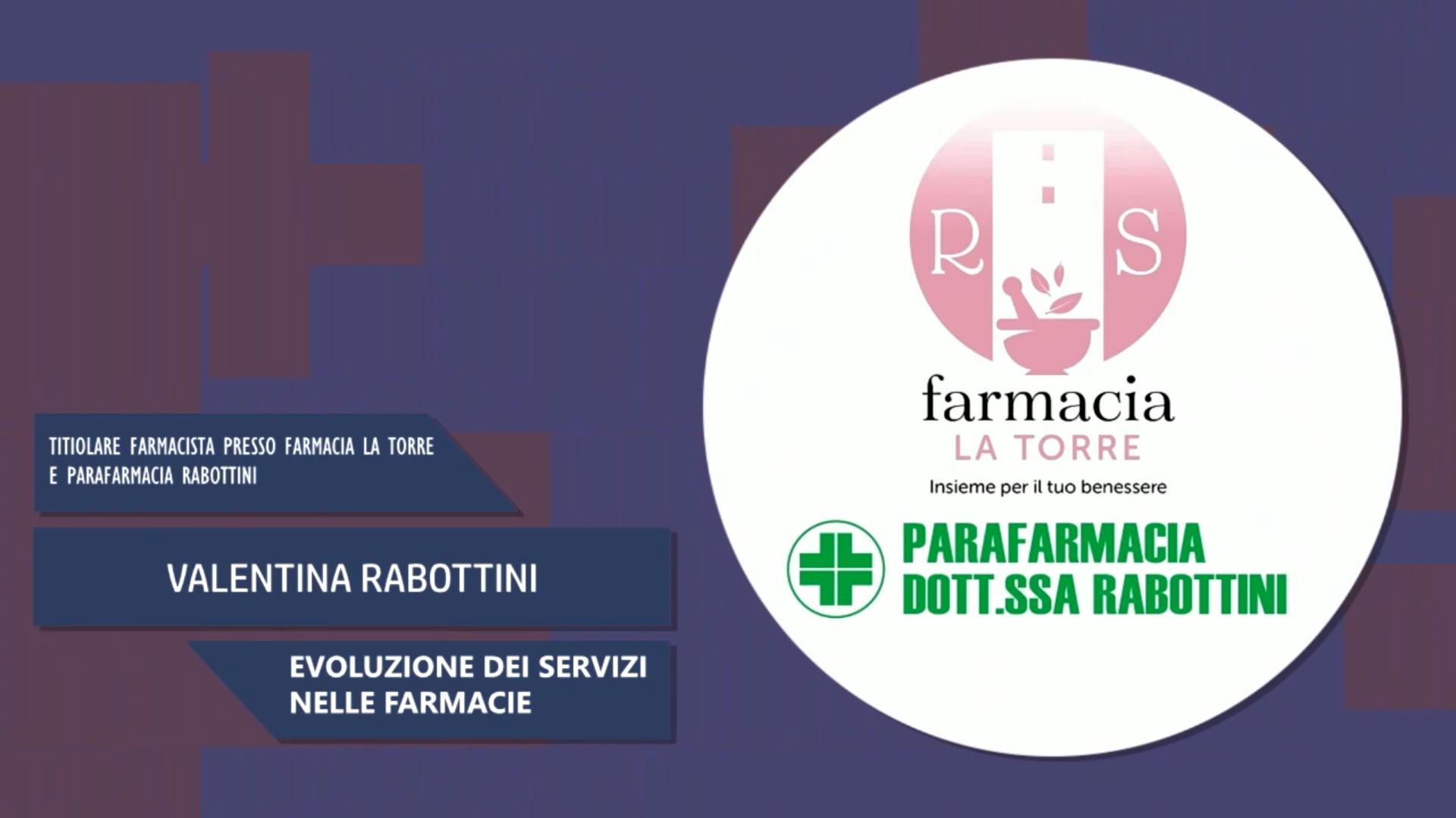 Intervista a Valentina Rabottini – Evoluzione dei servizi nelle farmacie