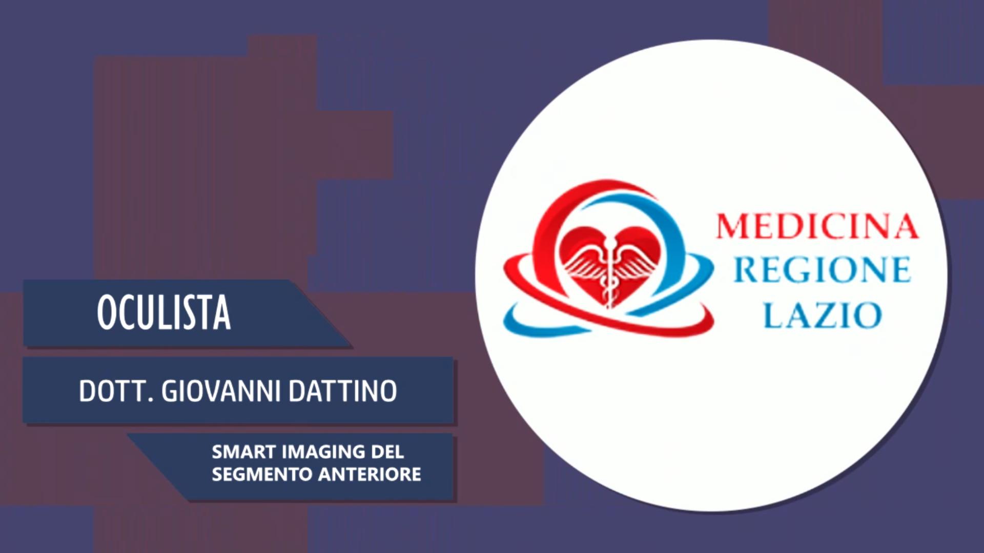 Intervista al Dott. Giovanni Dattino – Smart Imaging del segmento anteriore