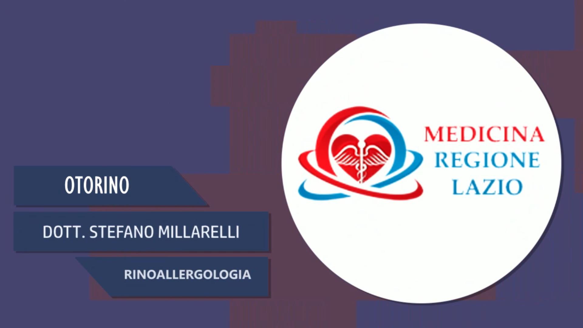 Intervista al Dott. Stefano Millarelli – Rinoallergologia