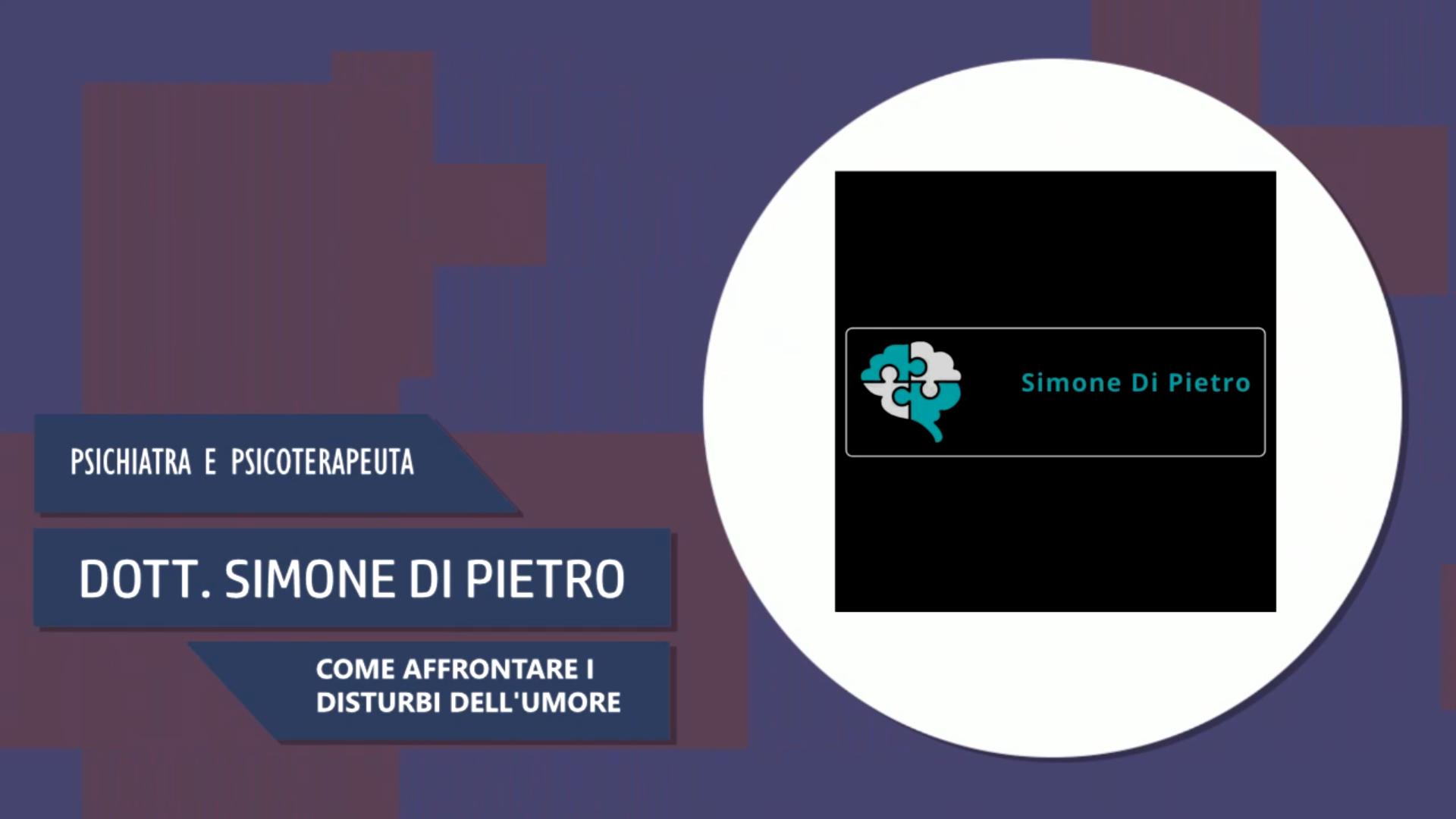 Intervista al Dott. Simone Di Pietro – Affrontare i disturbi del'umore