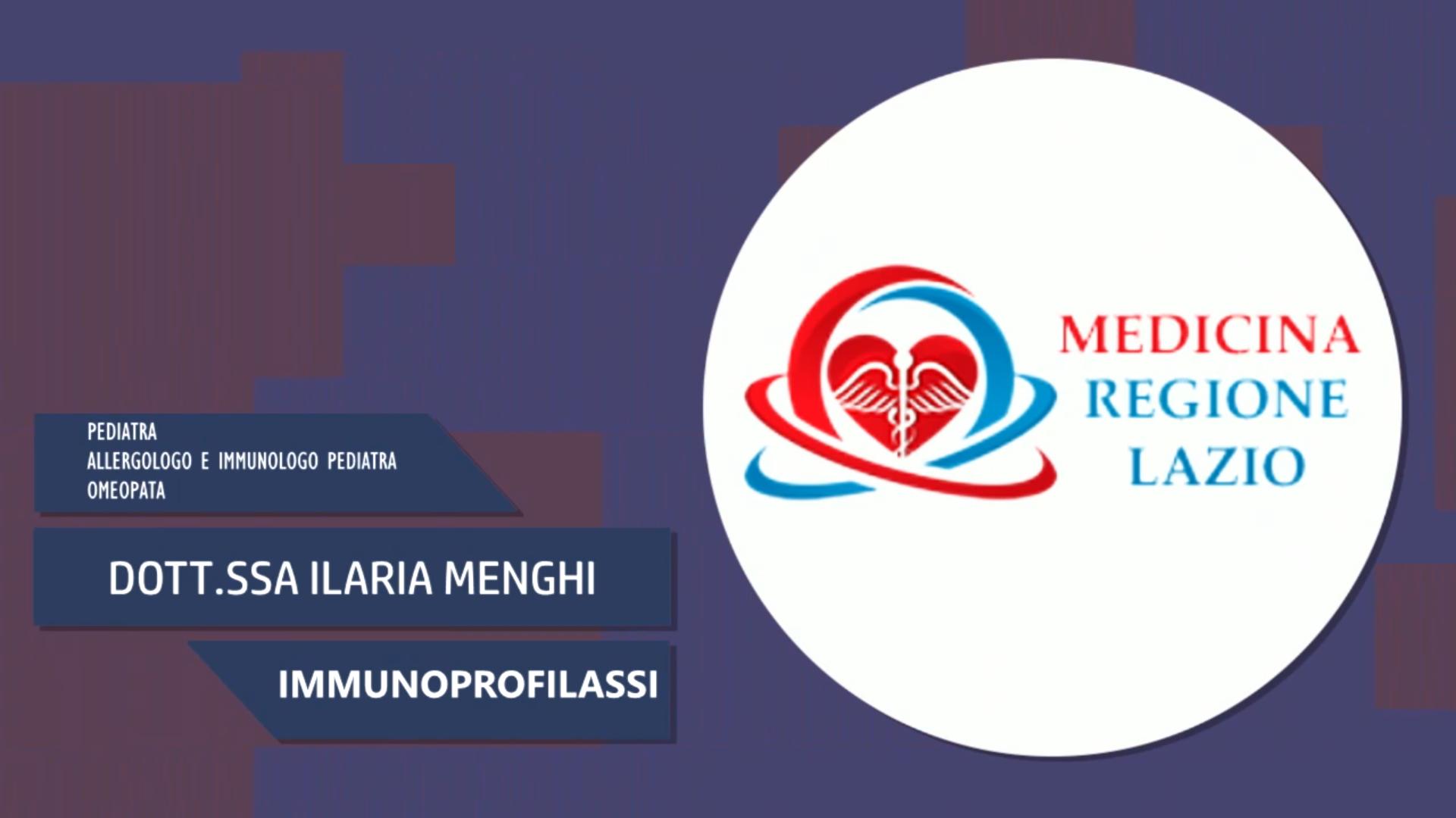Intervista alla Dott.ssa Ilaria Menghi – Immunoprofilassi