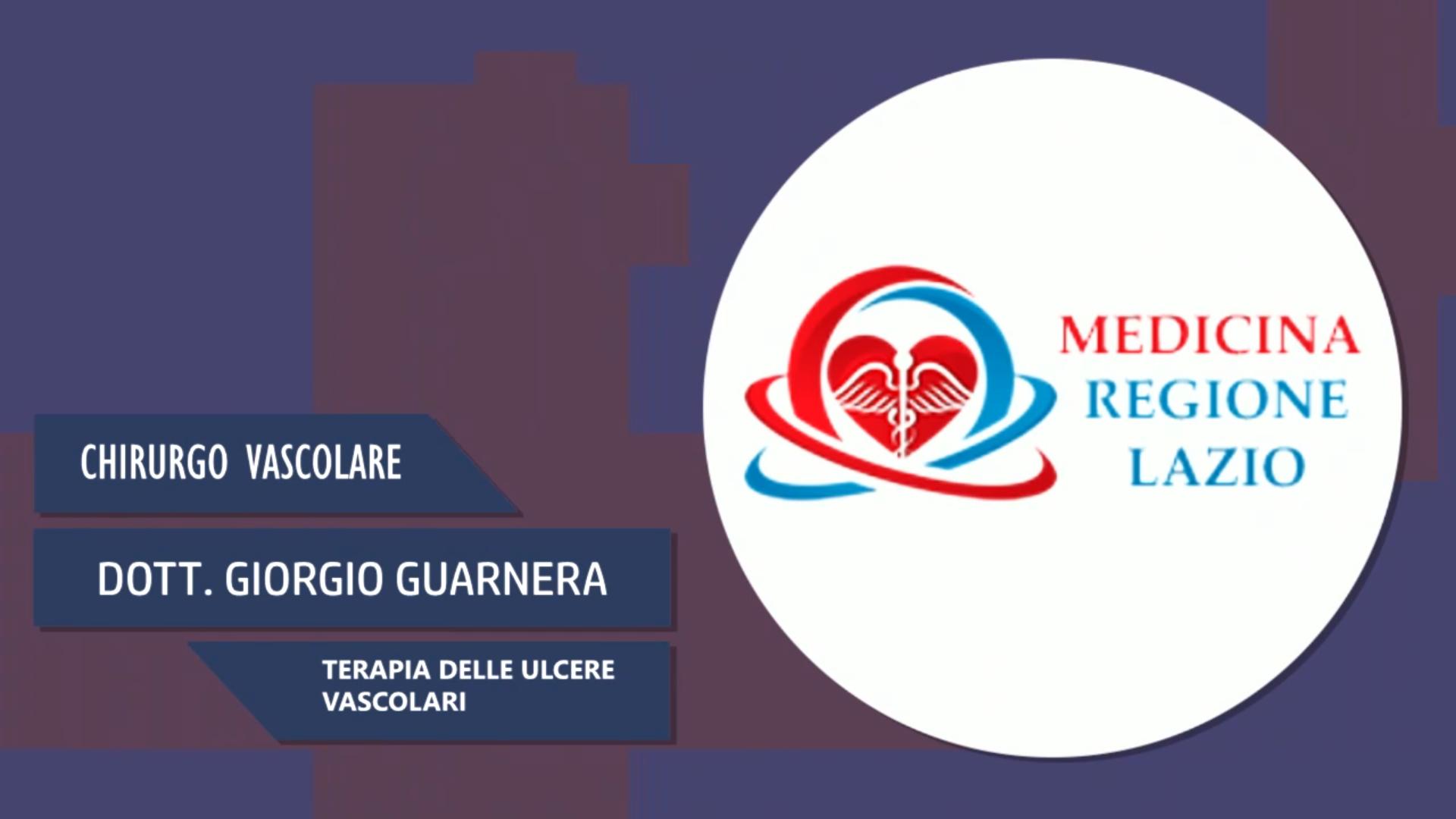 Intervista al Dott. Giorgio Guarnera – Terapia delle ulcere vascolari