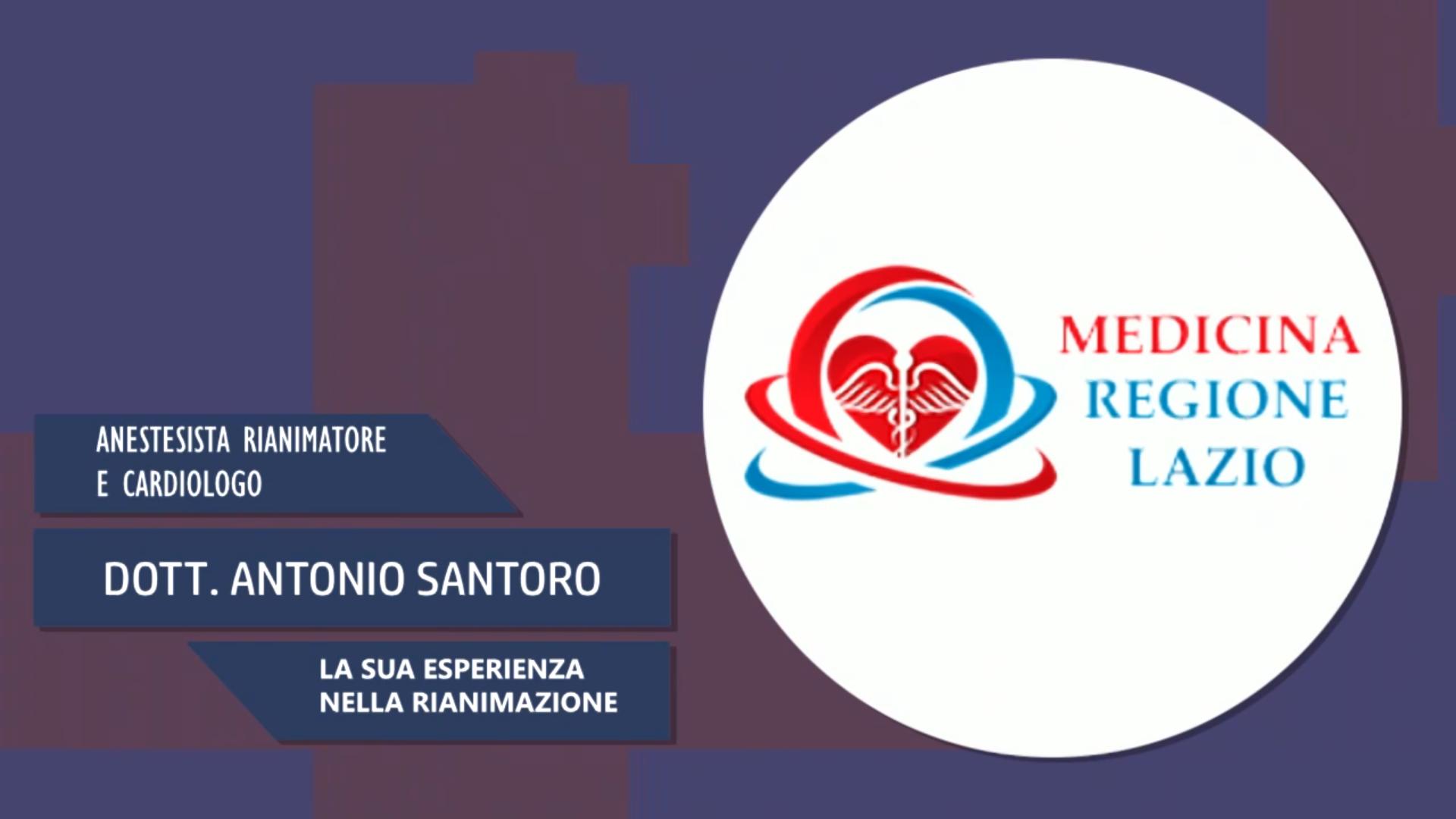 Intervista al Dott. Antonio Santoro – La sua esperienza nella rianimazione