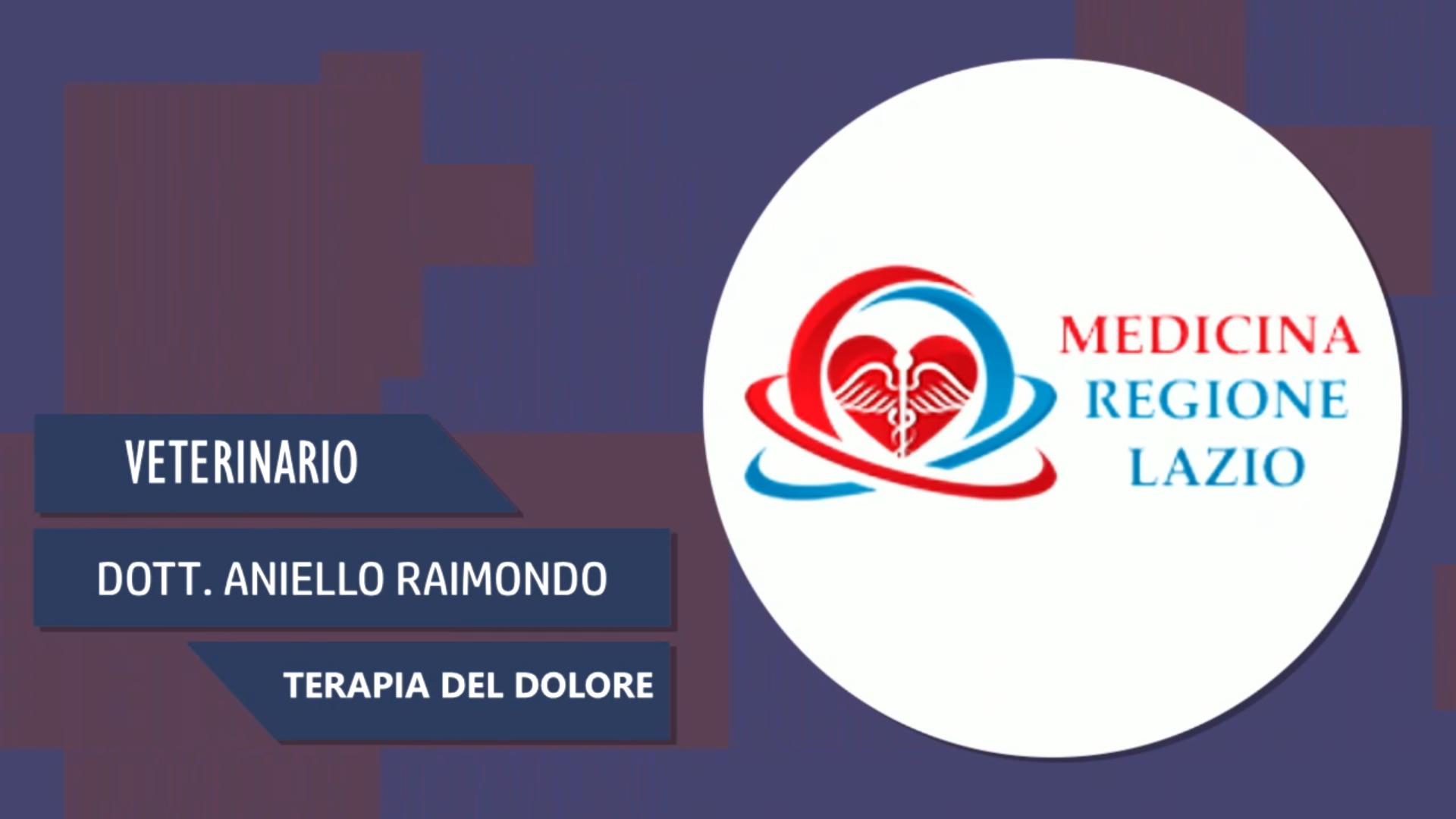 Intervista al Dott. Aniello Raimondo – Terapia del dolore