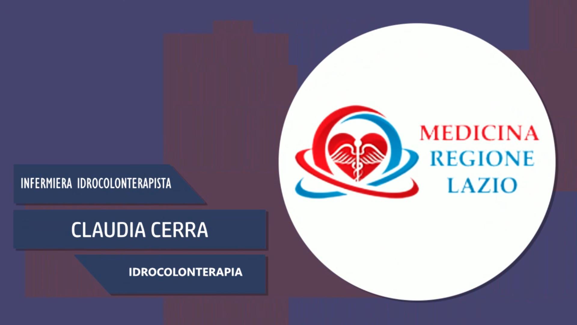 Intervista a Claudia Cerra – Idrocolonterapia