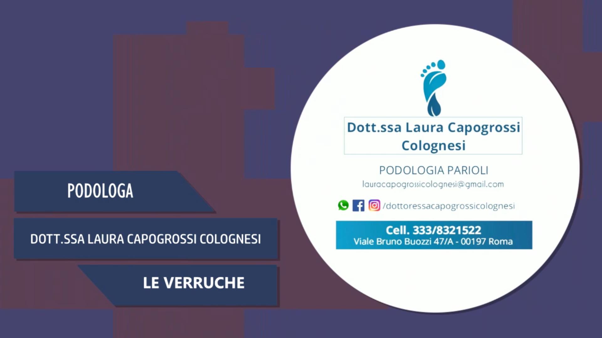 Intervista alla Dott.ssa Laura Capogrossi Colognesi – Le Verruche
