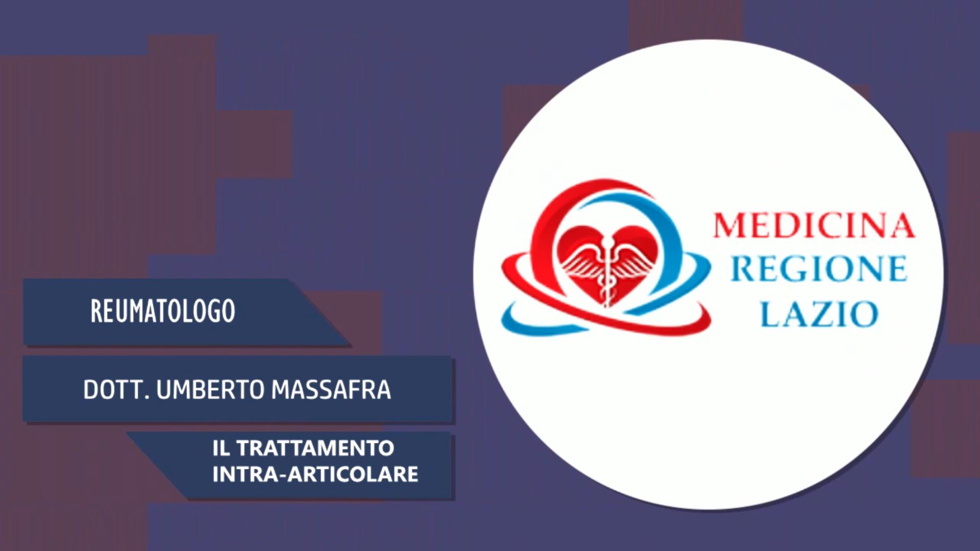 Intervista al Dott. Umberto Massafra – Il trattamento intra-articolare