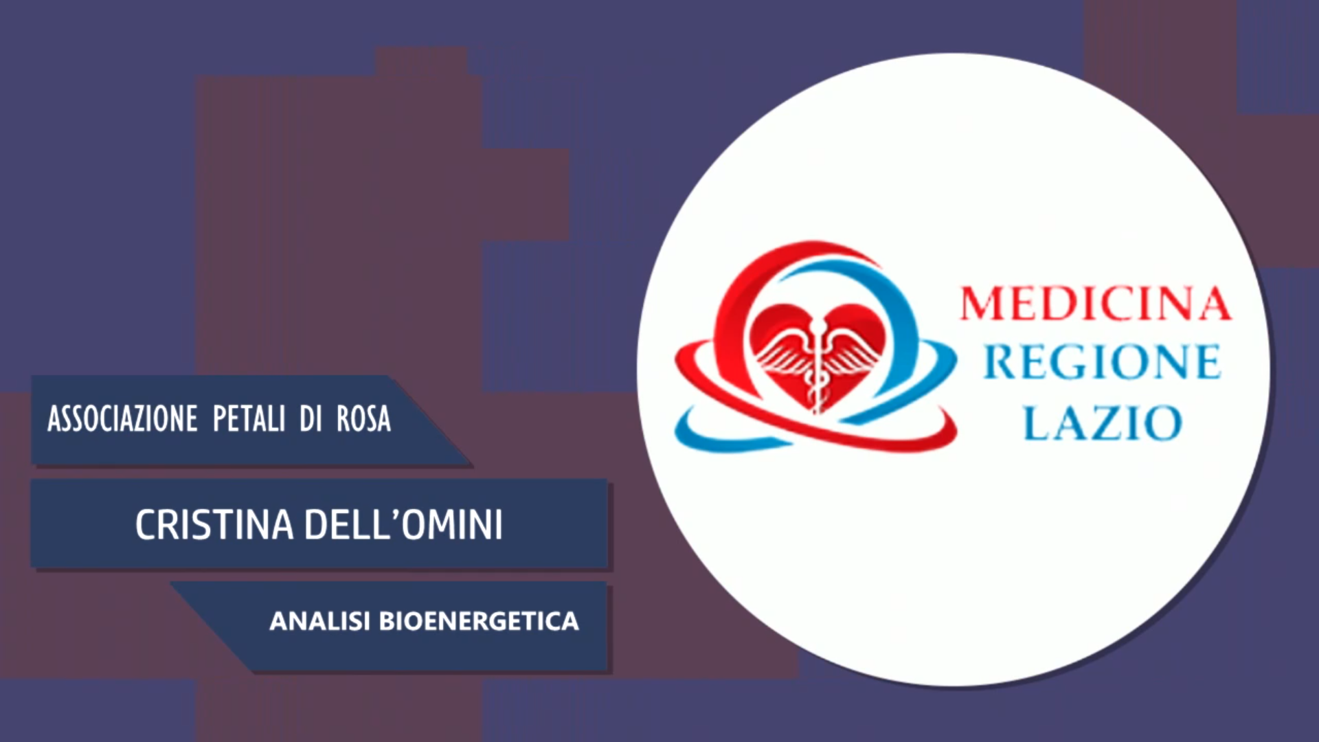 Intervista a Cristina Dell'Omini – Analisi bioenergetica