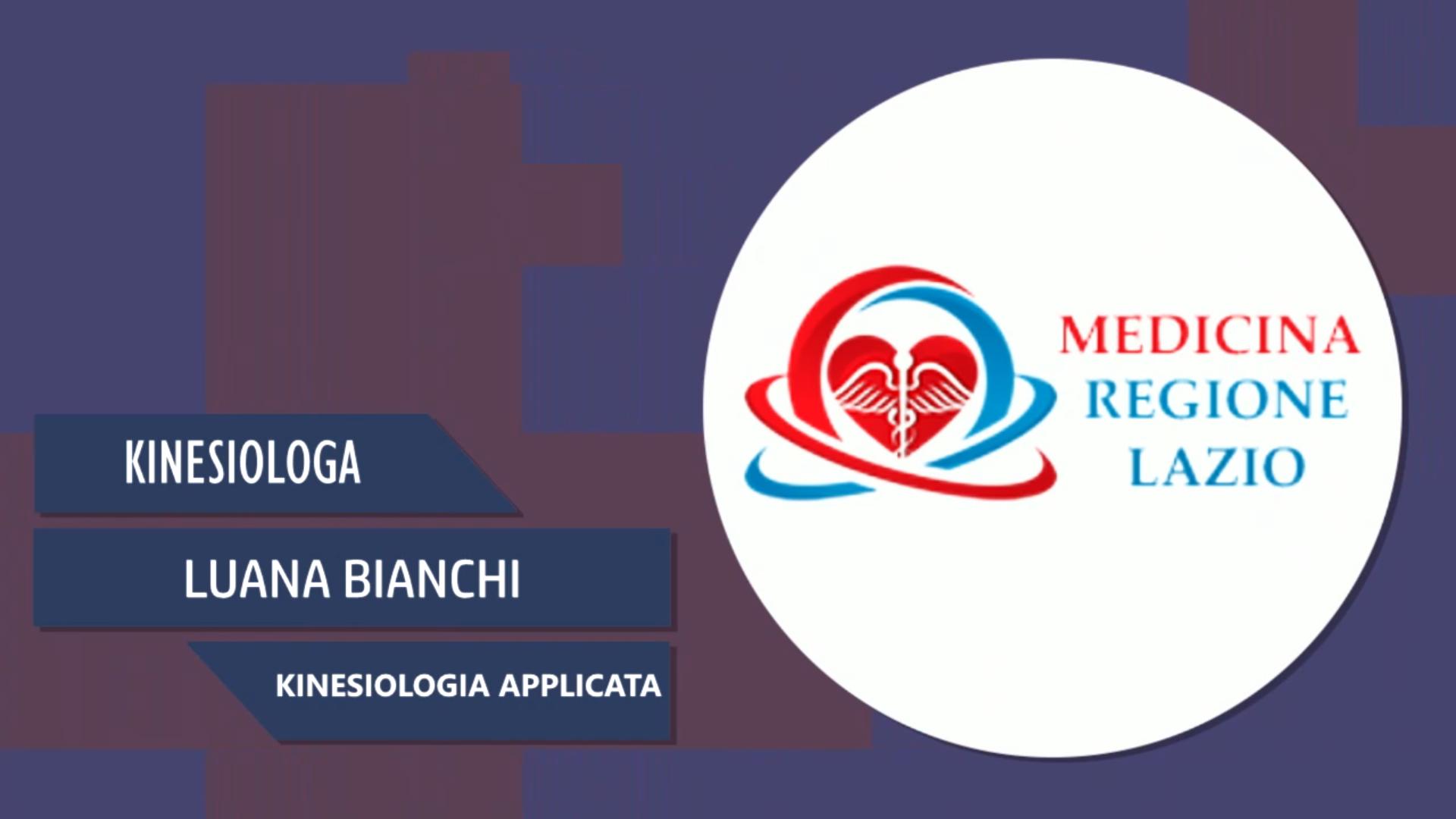 Intervista a Luana Bianchi – Kinesiologia applicata