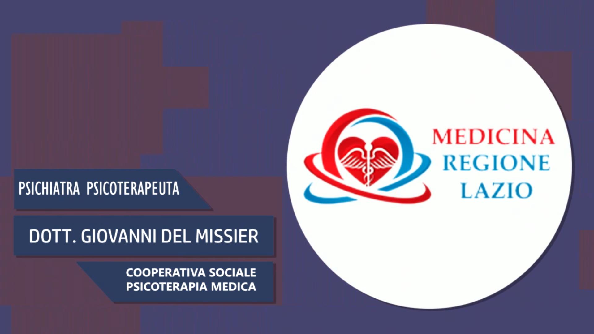 Intervista al Dott. Giovanni Del Missier – Cooperativa sociale psicoterapia medica