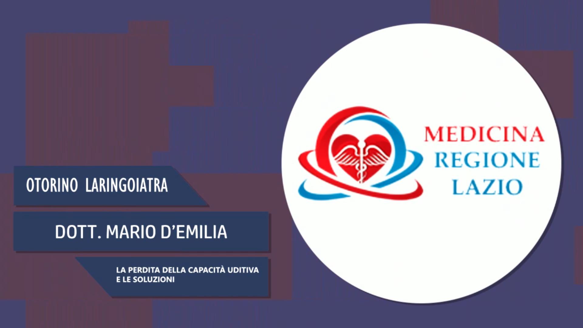 Intervista al Dott. Mario D'Emilia – La perdita della capacità uditiva e le soluzioni