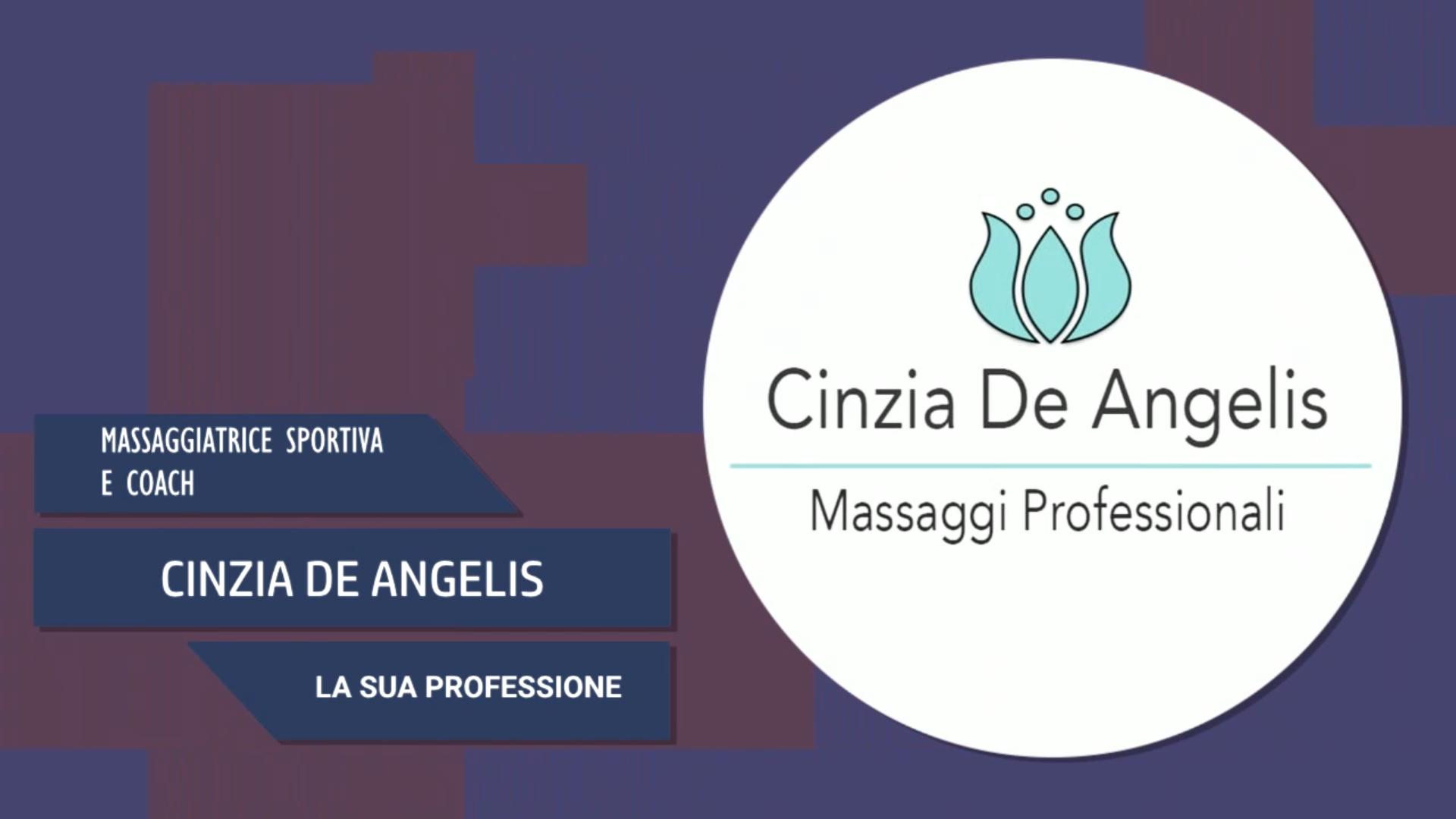 Intervista a Cinzia De Angelis – La sua professione