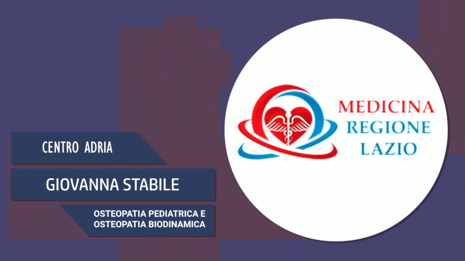 Intervista a Giovanna Stabile – Osteopatia pediatrica e biodinamica