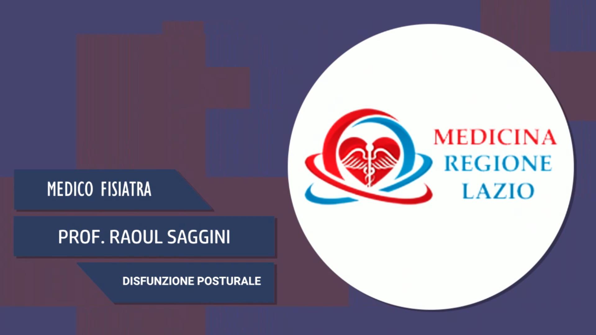 Intervista al Prof. Raoul Saggini – Disfunzione posturale
