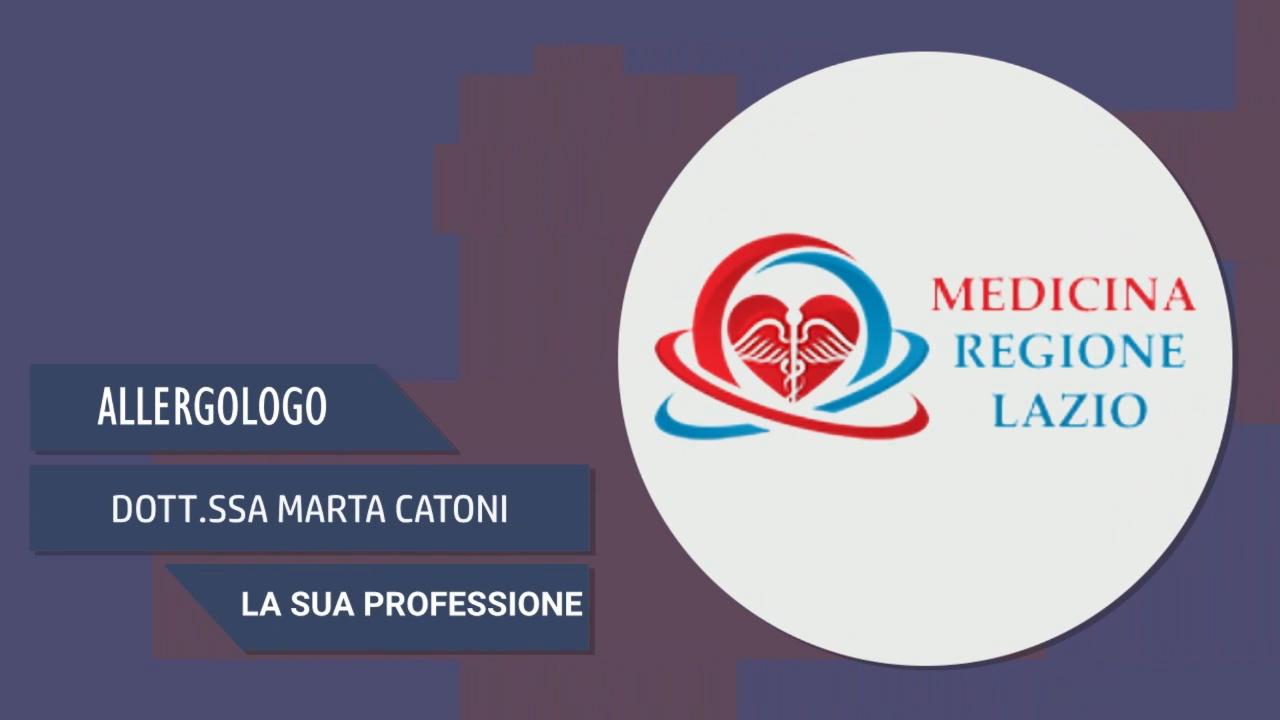 Intervista alla Dott.ssa Marta Catoni – La sua professione