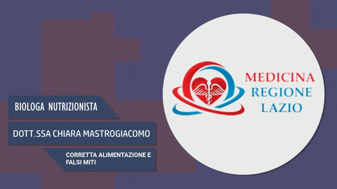 Intervista alla Dott.ssa Chiara Mastrogiacomo – Corretta alimentazione e falsi miti