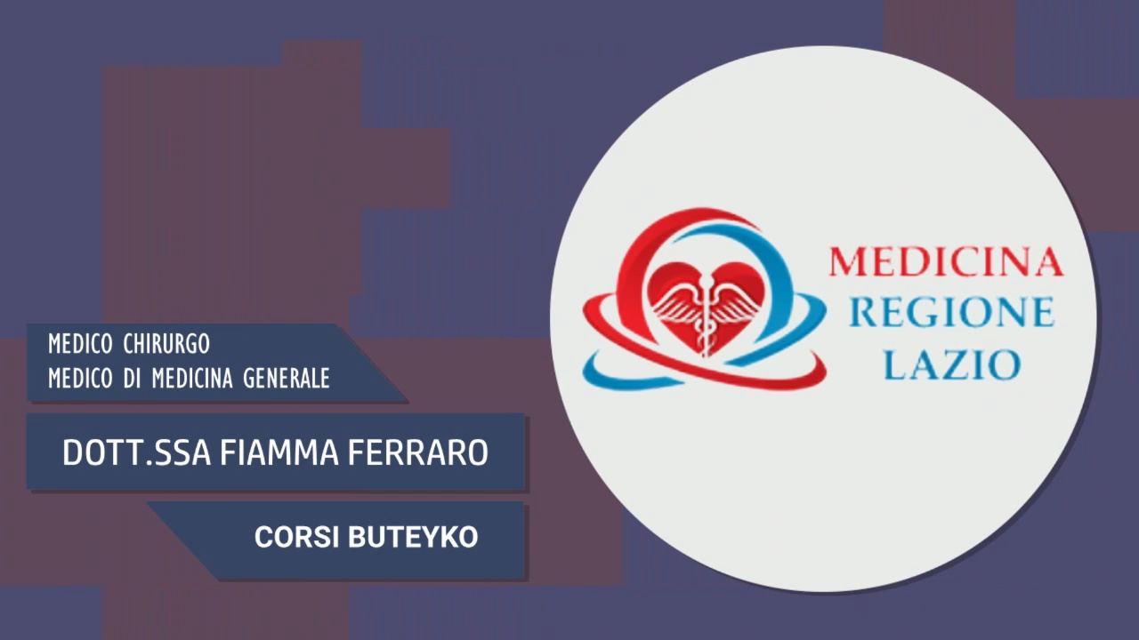 Intervista alla Dott.ssa Fiamma Ferraro – Corsi Buteyko