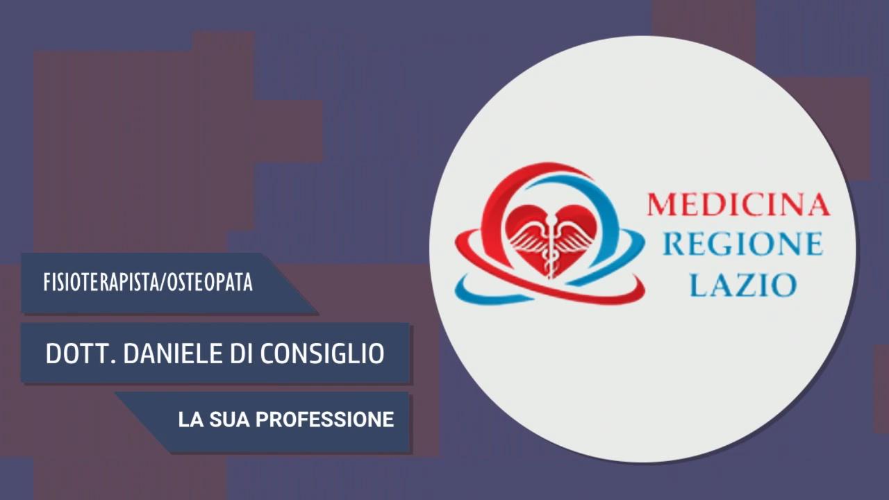 Intervista al Dott. Daniele Di Consiglio – La sua professione