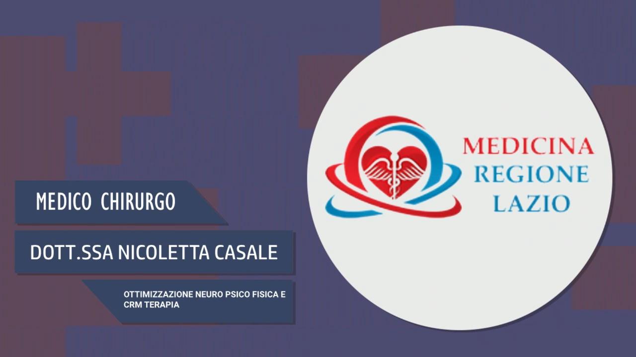 Intervista alla Dott.ssa Nicoletta Casale – Ottimizzazione neuro psico fisica e CRM terapia