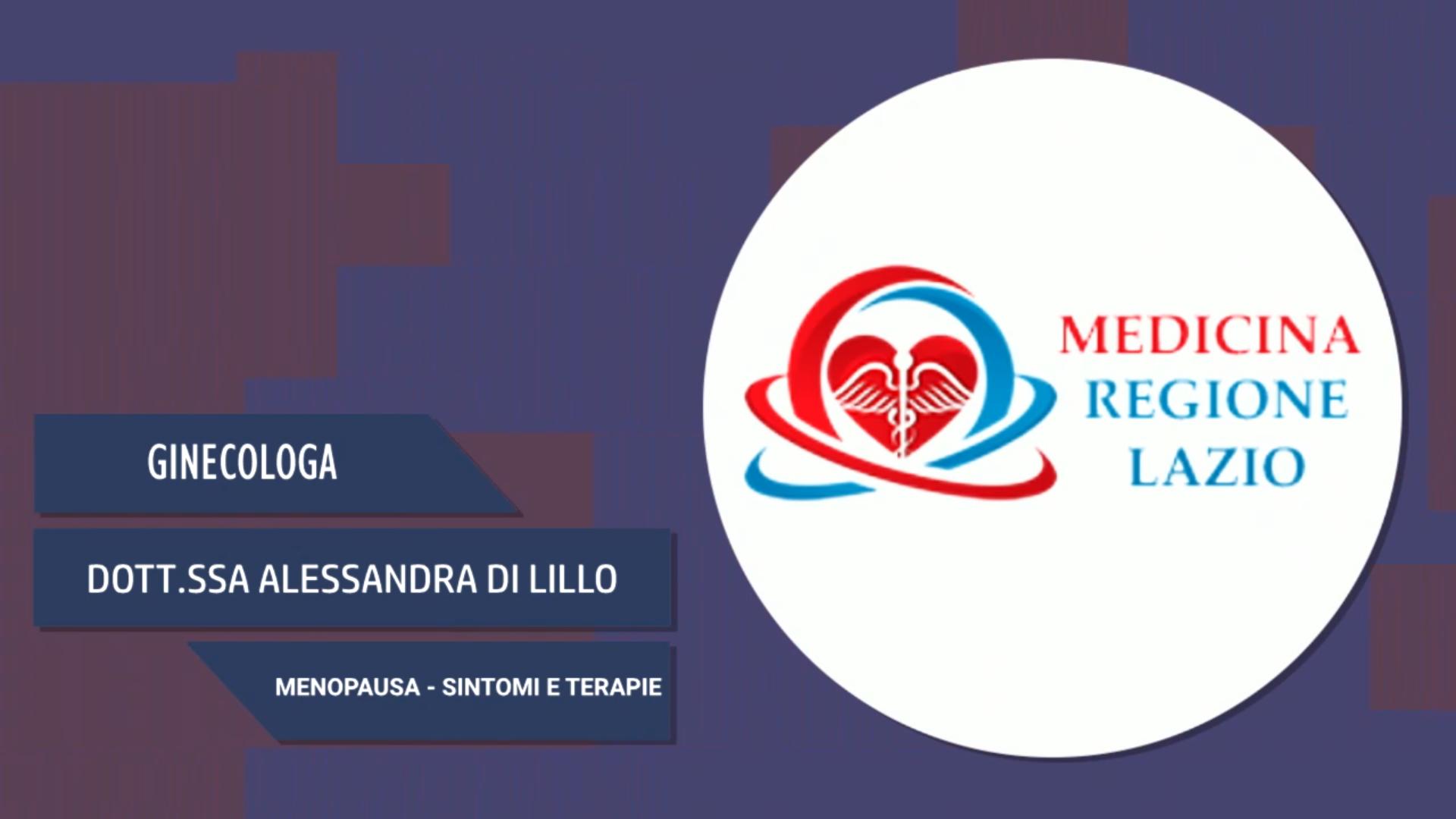 Intervista alla Dott.ssa Alessandra Di Lillo – Menopausa
