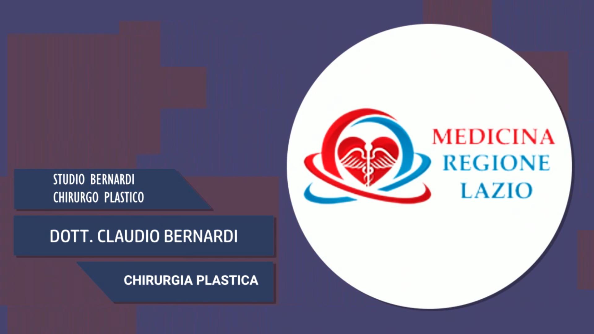 Intervista al Dott. Claudio Bernardi – Chirurgia Plastica