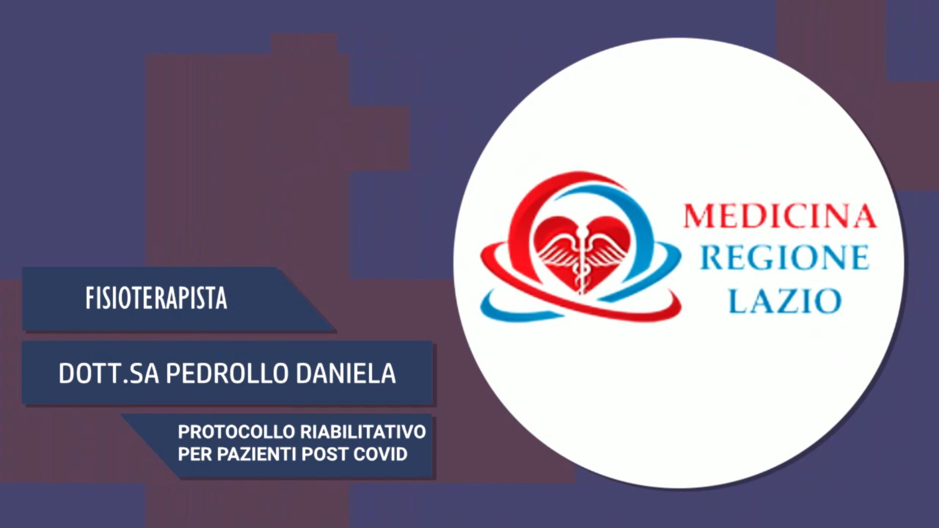 Intervista al Dott.ssa Pedrollo Daniela – Protocollo riabilitativo per pazienti post covid
