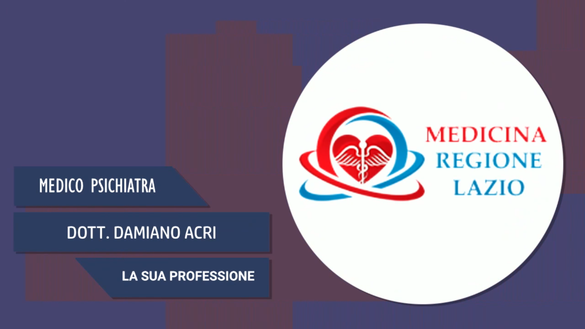 Intervista al Dott. Damiano Acri – La sua professione