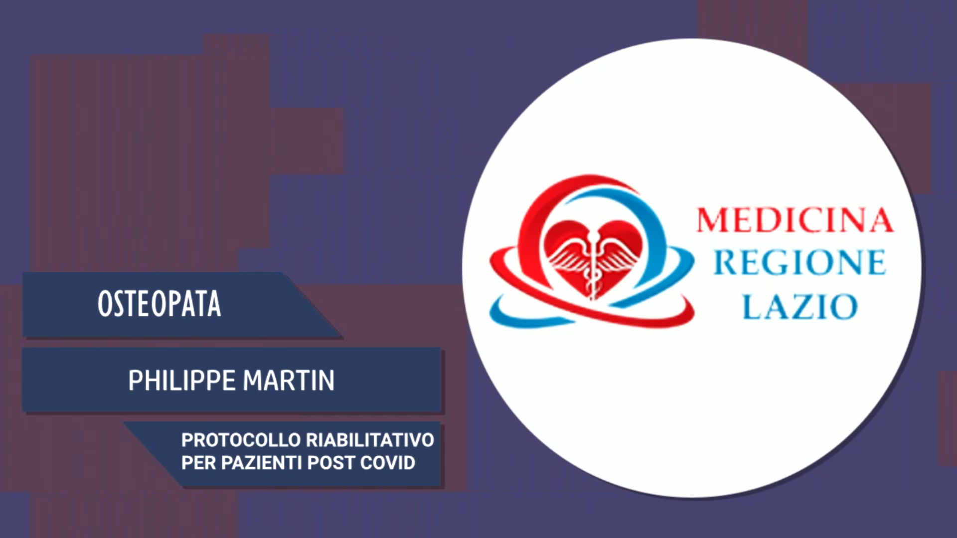 Intervista a Philippe Martin – Protocollo riabilitativo per pazienti Post Covid