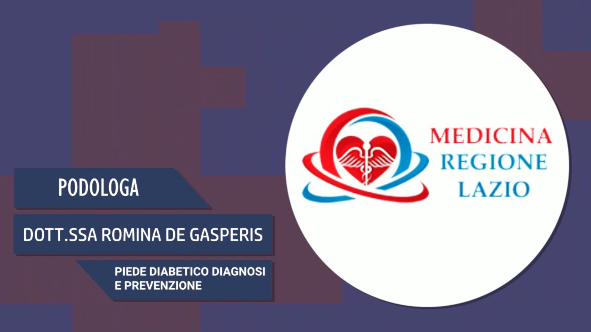 Intervista alla Dott.ssa Romina De Gasperis – Piede diabetico diagnosi e prevenzione