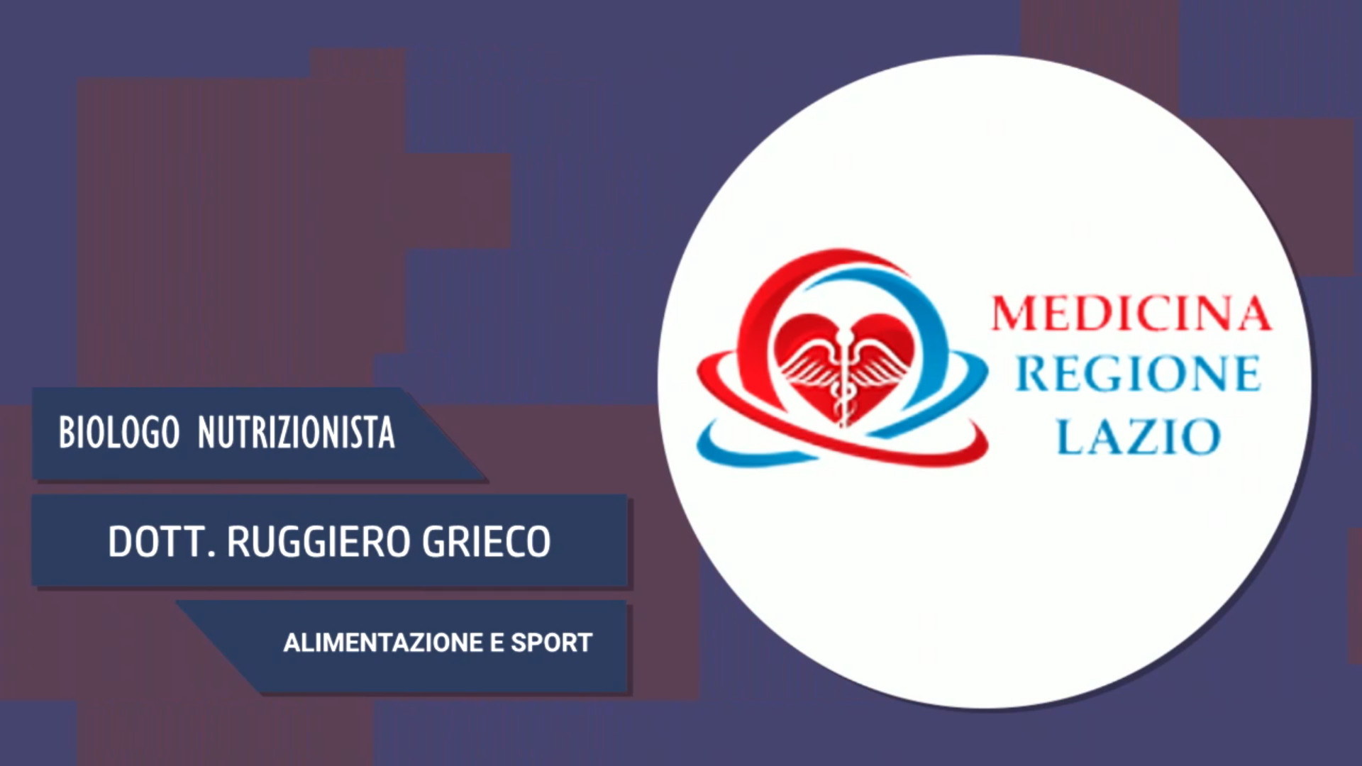 Intervista al Dott. Ruggiero Grieco – Alimentazione e sport